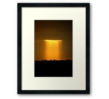 Mirage Sunrise - P Framed Print
