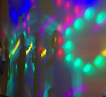 Reflections on the dance floor by ndarby1