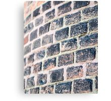 Vintage brick Canvas Print