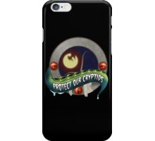 Cryptid Preservation Society (Color) iPhone Case/Skin