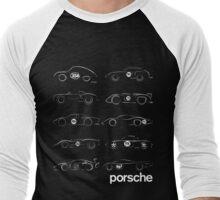 Porsche Collection Men's Baseball ¾ T-Shirt