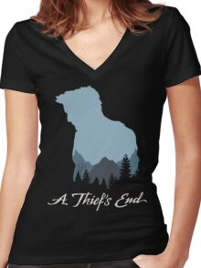 UC4 Drake Women's Fitted V-Neck T-Shirt
