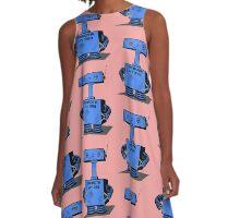 Cute Robot   A-Line Dress