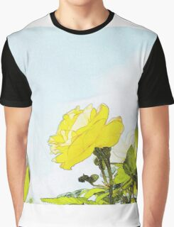 Yellow rose in a garden Graphic T-Shirt