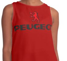 PEUGEOT RED Contrast Tank