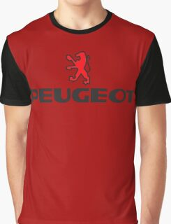 PEUGEOT RED Graphic T-Shirt