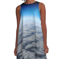 High above the clouds horizon  A-Line Dress