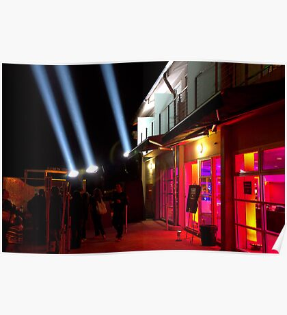 Red Light District - Dark Mofo 2014 Poster