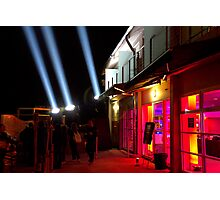 Red Light District - Dark Mofo 2014 Photographic Print