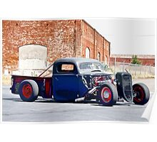 Rat Rod 'The Great Escape' Pickup Poster