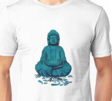 Buddha blue Unisex T-Shirt