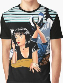 Pulp Fiction - Mia Standalone Variant Graphic T-Shirt