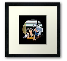 Pulp Fiction - Mia Standalone Variant Framed Print