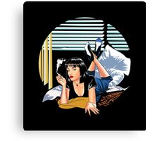 Pulp Fiction - Mia Standalone Variant Canvas Print