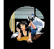 Pulp Fiction - Mia Standalone Variant Photographic Print