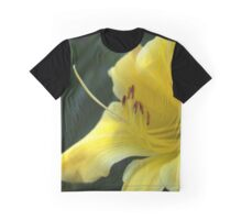 Yellow Daylily from A Gardener's Notebebook Graphic T-Shirt