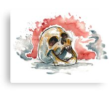 Laughing Skull Canvas Print