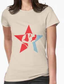 Star Dog  Womens Fitted T-Shirt