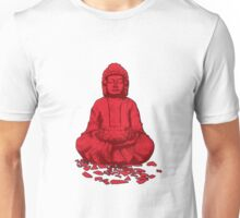Buddha red Unisex T-Shirt