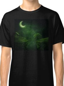 countryside at night Classic T-Shirt