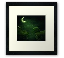 countryside at night Framed Print