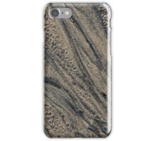 Sand Patterns on Awenda Beach, Awenda Provincial Park, ON, Canada iPhone Case/Skin