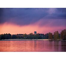 Midsummer rain Photographic Print