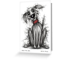Rags the dog Greeting Card