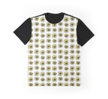 Sunflower Pattern Graphic T-Shirt