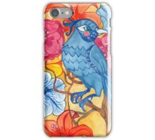 flowers, birds iPhone Case/Skin