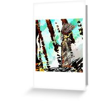 Romantus Distressed Collection: Morning Thunder Greeting Card