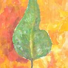 Watercolour Leaf by Master-ZuZu