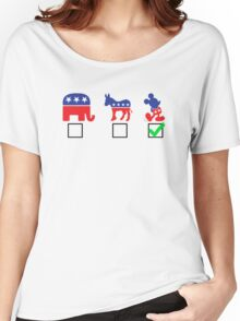 Political Affiliation: Disney Women's Relaxed Fit T-Shirt