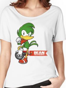 Sonic the Fighters - Bean the Dynamite Women's Relaxed Fit T-Shirt