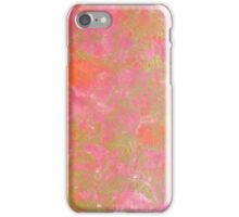 Pink Gold Marble Pattern iPhone Case/Skin