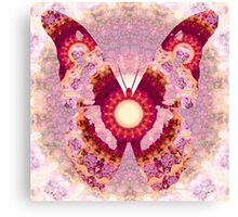 Mandala Butterfly 1 - Art by Sharon Cummings Canvas Print