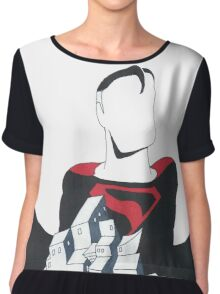 Superman Kingdom Come Chiffon Top