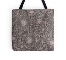 Floral Drawing Tote Bag