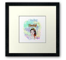 RV SEULGI Framed Print