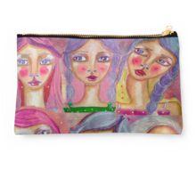 Girls In pink Studio Pouch