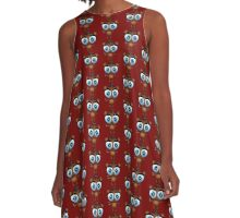 FNaF 2 - Chibi Freddy Fazbear A-Line Dress