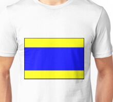 Letter D Flag Unisex T-Shirt