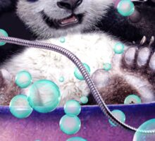 PANDA BATH Sticker