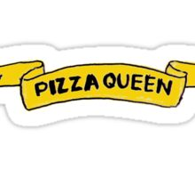 Pizza Queen Sticker