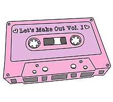 Make Out 80s Mixtape Photographic Print