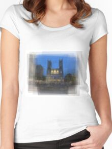 Notre-Dame Basilica Montreal Women's Fitted Scoop T-Shirt