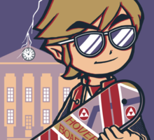 A Link to the Future Sticker