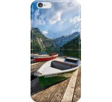 Summer in the Alps iPhone Case/Skin