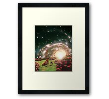 The VIEW ... Framed Print