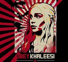 Obey Khaleesi by jakobin